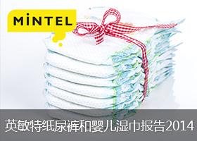 英敏特纸尿裤和婴儿湿巾报告