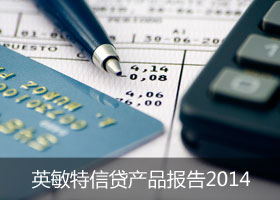 英敏特信贷产品报告2014