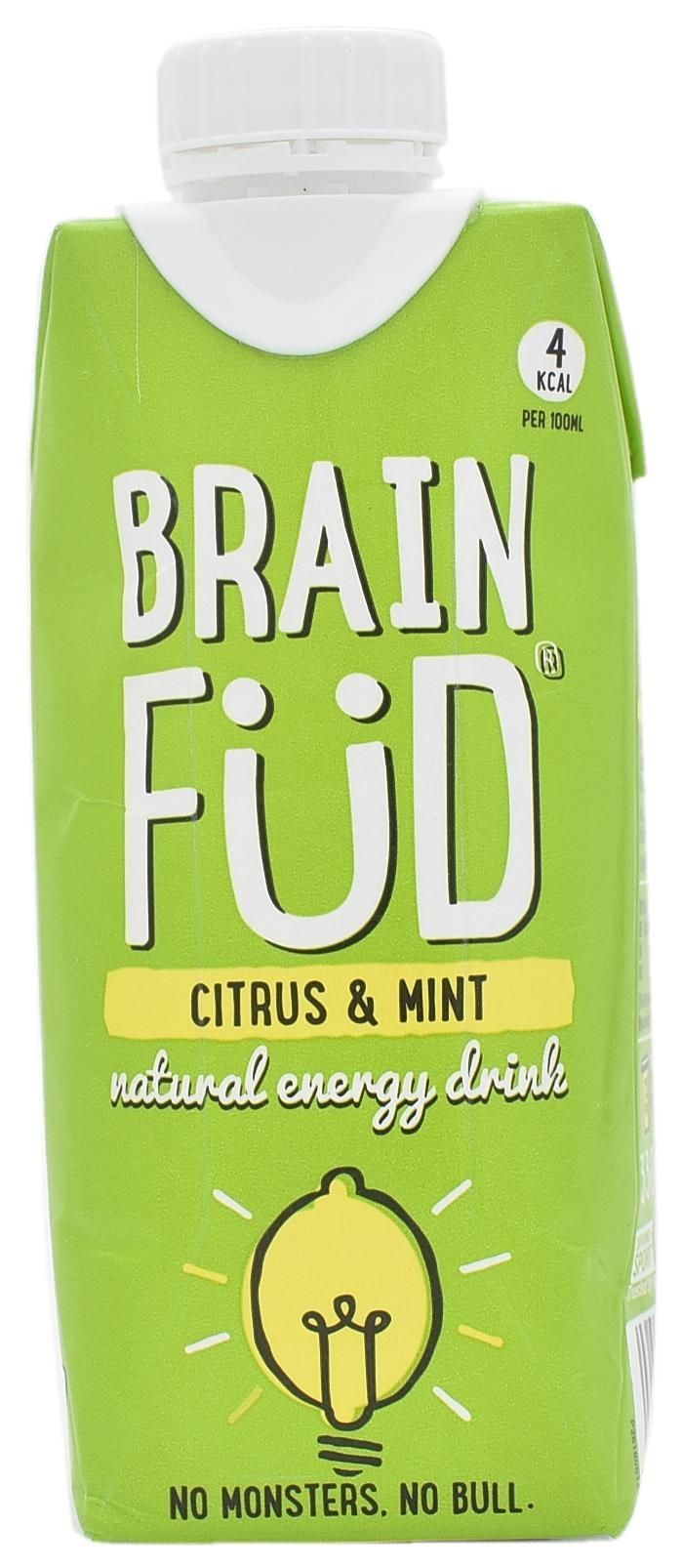 Brain Fud Citrus & Mint Natural Energy Drink