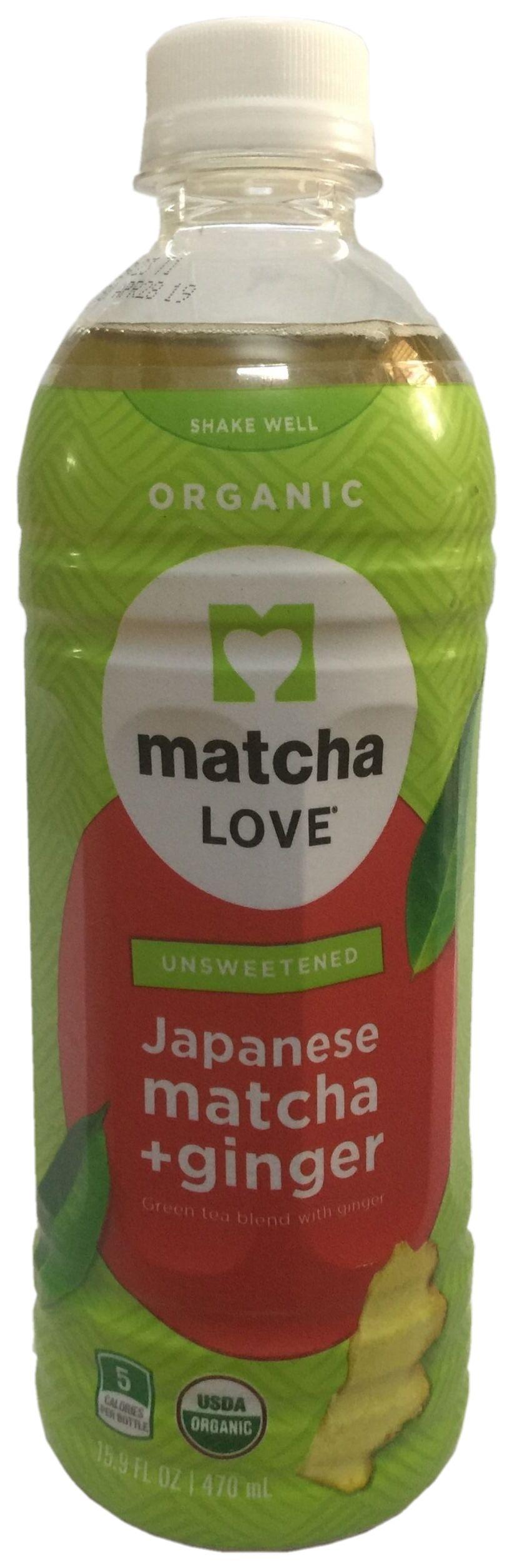Ito En Matcha Love Matcha Ginger drink
