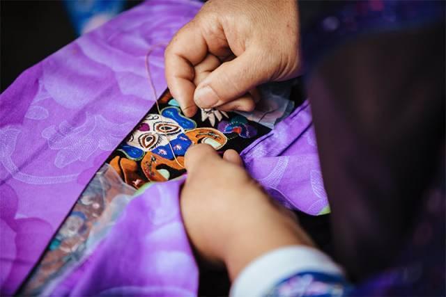 Miao embroidery